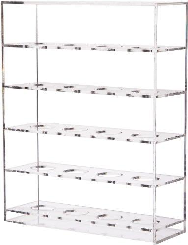 Longridge Uni Golfbälle Plexiglas Schaukasten 20, Weiß