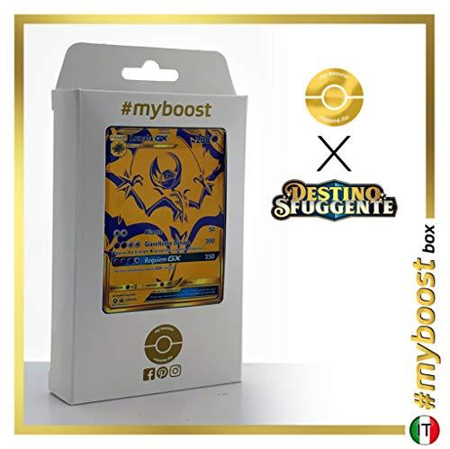 Lunala-GX SM103A Oro Segreto - #myboost X Sole E Luna 11.5 Destino Sfuggente - Box di 10 Carte Pokémon Italiane