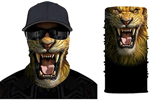 3D Animal Print Bandanas Balaclavas for Men Women Unisex Seamless Rave Neck Gaiter Multifunctional product image