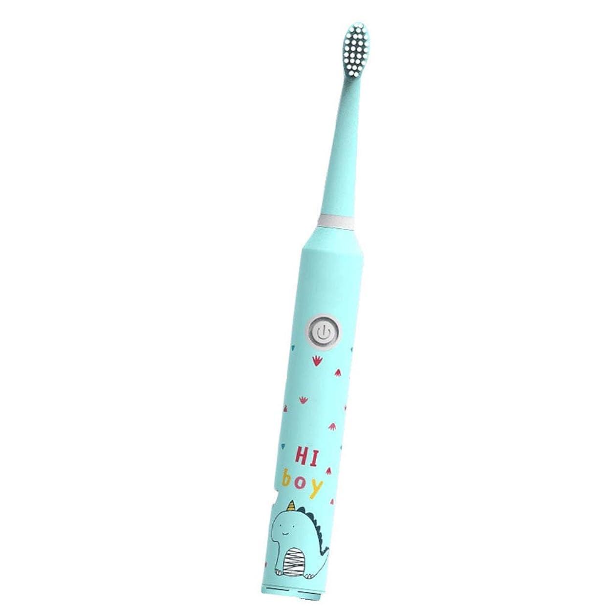 ページ混沌ハンドブック歯ブラシの取り外しのための取り替えのブラシの頭部および歯を白くすることを用いる子供の電動歯ブラシ(子供の電子歯ブラシ)