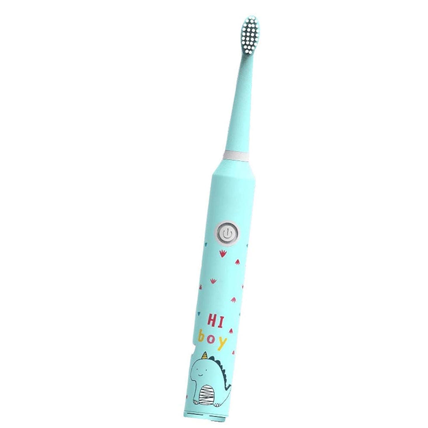踏み台暴力的な代理店歯ブラシの取り外しのための取り替えのブラシの頭部および歯を白くすることを用いる子供の電動歯ブラシ(子供の電子歯ブラシ)
