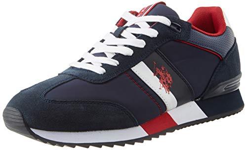 U.S. POLO ASSN. Austen, Sneaker Uomo, Blu (Navy 012), 43 EU