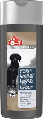 8in1 - 101659 - Shampooing Spécial Poil Noir pour Chien