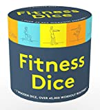 Chronicle Books Fitness Dice: 7 Wooden Dice, Over 45,000 Workout Routines