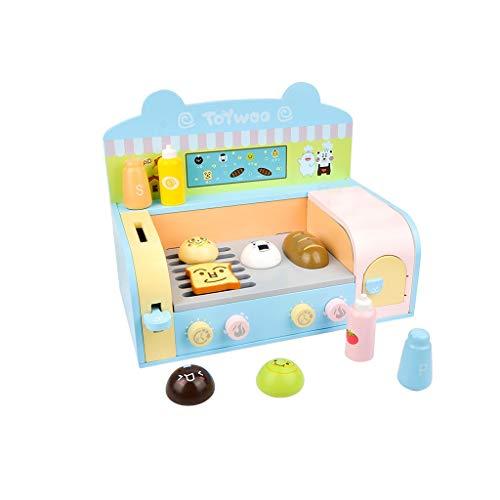 Spielzeug Küchenspielzeug Set, Küchengeräte, Spielzeug Küchenzubehör, Kinder Toaster für Jungen und Mädchen Simulation Ofen Spielhaus Küche Kochen Spielzeug Set