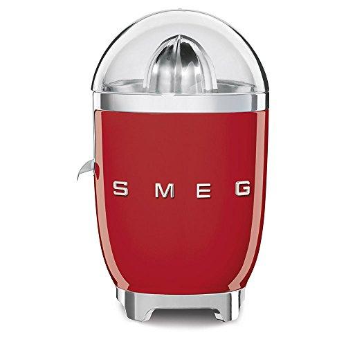 Smeg Exprimidor CJF01RDEU, 70 W, Acero Inoxidable, rojo
