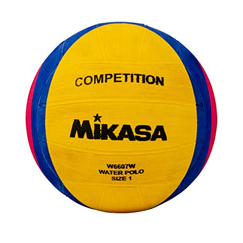 Mikasa NFHS Competition Water Polo Ball (Yellow/Blue/Pink)