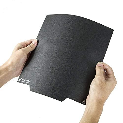 HzdaDeve Adhesivo magnético flexible extraíble para impresora 3D tamaño de construcción de 220x220mm con asa para Anet A8 Wanhao I3