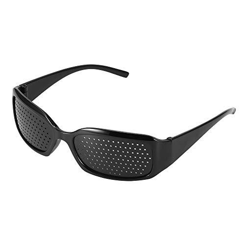 TiooDre - Gafas para corrección de visión reticular, antifatiga, antifatiga, para prevenir la vista cercana, mejorar las gafas, color negro