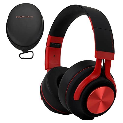 PowerLocus Auriculares Bluetooth Diadema P3,[Bluetooth 5.0,40h de música] Cascos Bluetooth Inalámbrico Plegable...