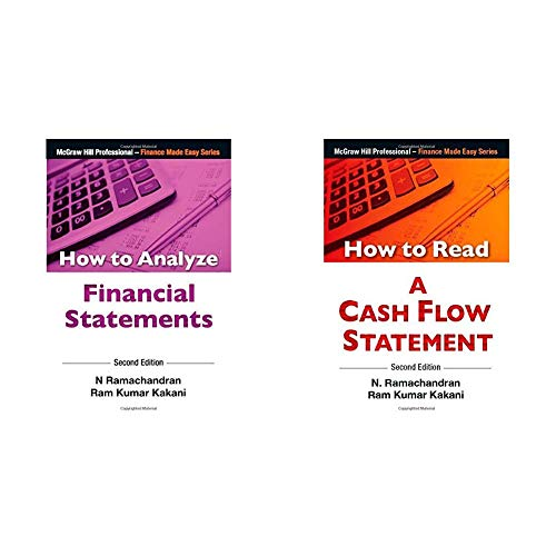 How to Analyze Financial Statements + HOW TO READ A CASH FLOW STATEMENT (Set of 2 Books)
