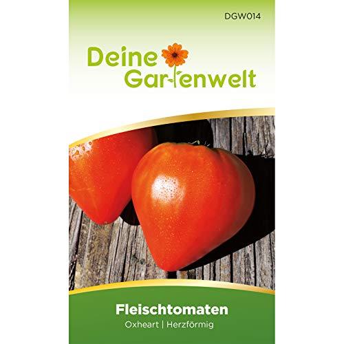 Fleischtomate Oxheart 2 Tomatensamen   Samen für Ochsenherz-Tomaten   Fleischtomatensamen   Saatgut für Ochsenherztomaten