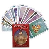 SYEA 52 Mazzo di Tarocchi Mazzi di Tarocchi Facili da Trasportare Mazzo di Carte dei Tarocchi di Astrologia