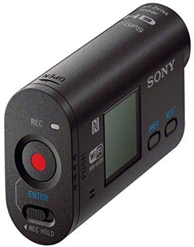 Sony HDR-AS30VB Bike Mount Kit - Ultra-kompakte Action-Cam (Exmor R CMOS-Sensor, Full HD, PS/WIFI/NFC Function-Kit), schwarz