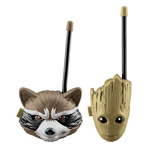 Guardians of The Galaxy Groot and Rocket Racoon Walkie Talkies for Kids Static Free Extended Range Kid Friendly Easy to Use 2 Way Walkie Talkies
