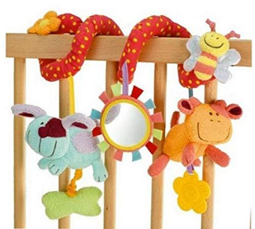 LAVALINK Krippe Spiral-Charme-Baby-Spielzeug Krippe Autositz Kinderwagen