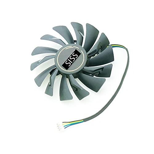 Ventilateur de refroidissement pour carte graphique MSI GeForce GTX 1070 AERO ITX - Pièce de rechange améliorée - Compatible avec carte graphique et vidéo