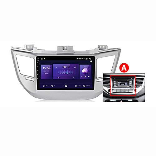 Android Autoradio 9' Pantalla Tactil Para Coche HD Radio De Coche Bluetooth SWC Per Hyundai Tucson 3 2015 - 2018 Coche Audio FM/Am/RDS Radio Video Player Bluetooth Radio Pantalla,A 7862 4g+64g