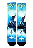 Bioworld Merchandising / Independent Sales Adult The Polar Express Train Sublimated Socks Standard