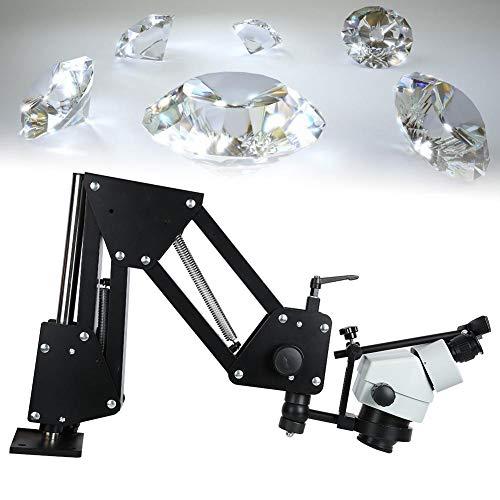 Zouminy Sieraden Micro Inlaid, Micro Inlaid Mirror Multi-directionele Lente Beugel Microscoop Sieraden Maken Gereedschap