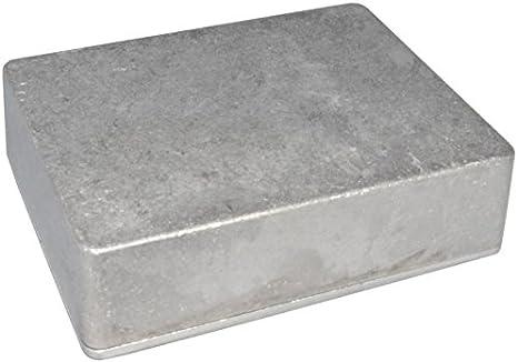DIYPedalGearParts® Contenedor de aluminio 1590BB, efecto pedal, stomp box