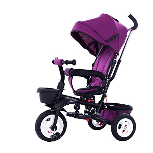 Buy Discount Children's Tricycle Rider Bicycle 1-3-5-2-6 Years Old Large Lightweight Baby Baby Child...