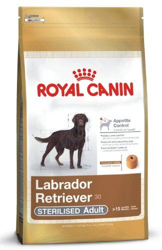 Royal Canin hondenvoering Labrador Retriever Sterilised, 12 kg, per stuk verpakt (1 x 12 kg)