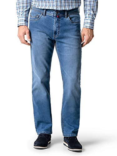 Walbusch Herren Ultralight Jeans 2.0 einfarbig Bleached 29