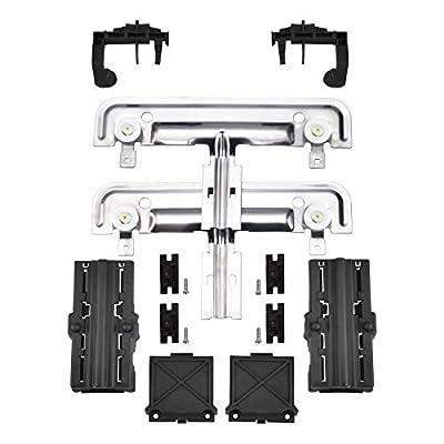 W10712395 Dishwasher Rack Adjuster Metal Kit By AMI-Replace W10712395VP, W10350375, AP5957560, PS10065979,W10250159, W10350375