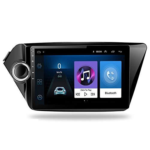 NBVNBV Android 8.1 4G Autoradio Lettore Audio Video Auto Multimediale Wi-Fi Navigazione GPS per Kia Rio K2 K3 K4 2010-2017 2 DIN Collegamento Mirror,K2 901 s Cam