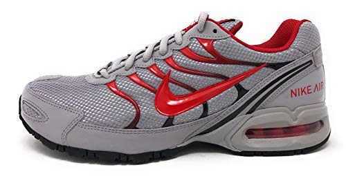 Nike Mens Air Max Torch 4 Running Shoes (11.5 D(M) US, Atmosphere Grey/University Red)