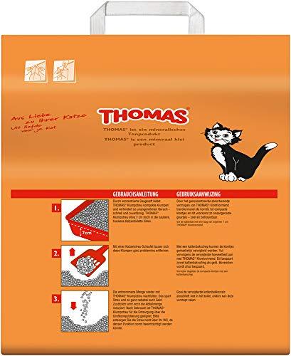 Thomas Katzenstreu Klumpstreu, 1 Packung (1 x 10 l) - 2