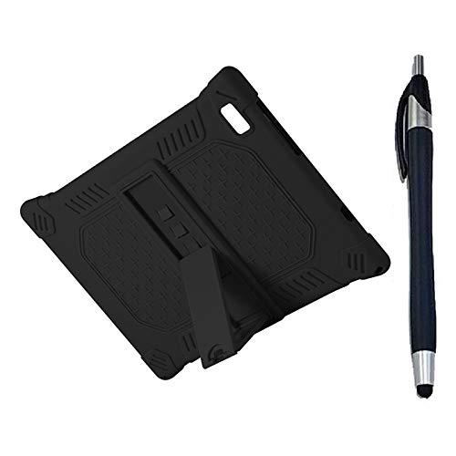 Yantan Para Teclast M40 HüLle P20HD - Tabletas de protección de silicona (10,1 pulgadas, ajustables, SttNder con lápiz capacitivo)