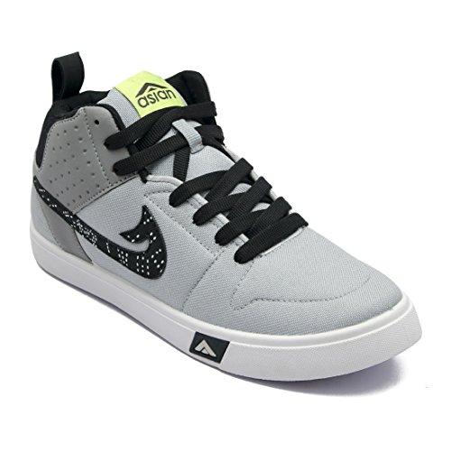 ASIAN Boy's Grey Walking Shoe - 4 UK