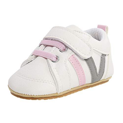 YWLINK Unisex Zapatillas Bebé Niño Niña Zapatos Primeros Pasos con Suela Goma Antideslizante