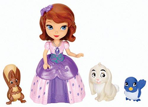 Mattel Y6640 - Disney's Sofia die Erste, Tierfreunde, Puppe und Tierfiguren