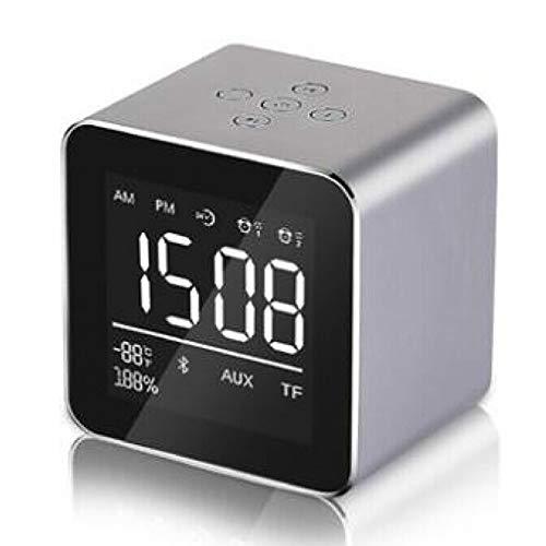 Jian E -/ Draadloze Bluetooth Speaker - Alarm Klok Mobiele Audio Mini Subwoofer Draagbare Kaart -/, B