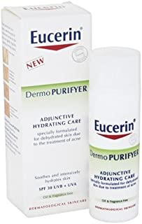 Eucerin Dermo Purifyer Soothing and Hydrating Cream (50 ml) Adjunctive Hydrating Care! The best acne therapy!