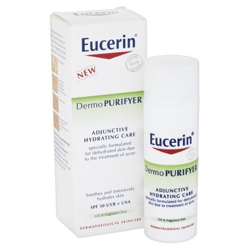 Eucerin DermoPURIFYER Adjunctive Hydrating Care - SPF30 50ml