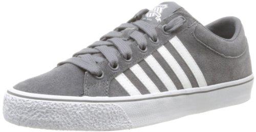K-Swiss Herren Adcourt LA SDE VNZ Sneaker, Grau (Charcoal/White), 40 EU