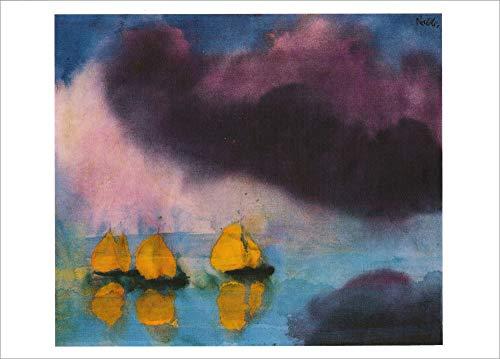 3er-Packung: Kunstkarte Emil Nolde