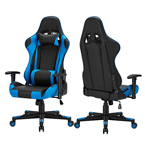 HOMROM Gaming Chair Computer Game Chair Office Chair Ergonomic High Back PC Desk Chair Height...
