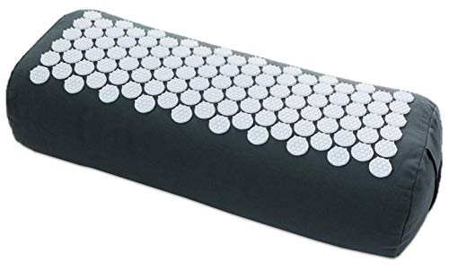 Body Quiet Yoga Bolster Pillow | Acupressure Yoga Cushion...