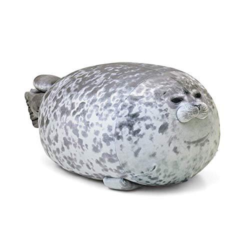 La almohada con memoria para el cuello alivia la f 3D novedad suave mar león peluche juguetes mar mundo animal tiro almohadas sello peluche relleno bebé almohada almohada niños regalos memoria espuma