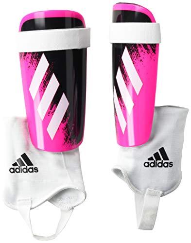 adidas Youth X 20 Match Shin Guards Shock Pink/White/Black Large