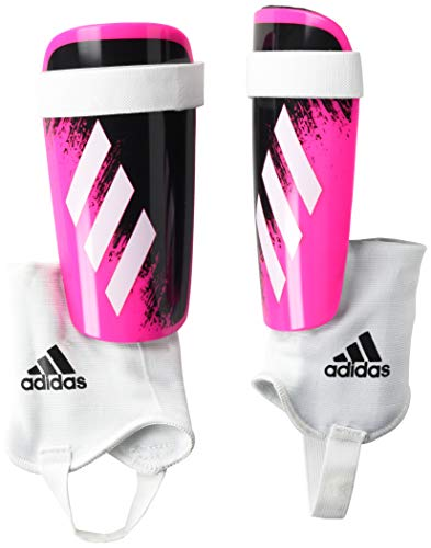 adidas Youth X 20 Match Shin Guards Shock Pink/White/Black Medium