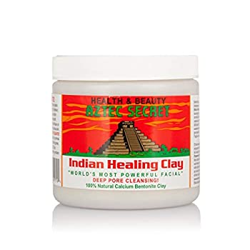 Aztec Secret Indian Healing Clay Deep Pore Cleansing 1 Pound  Pack of 2