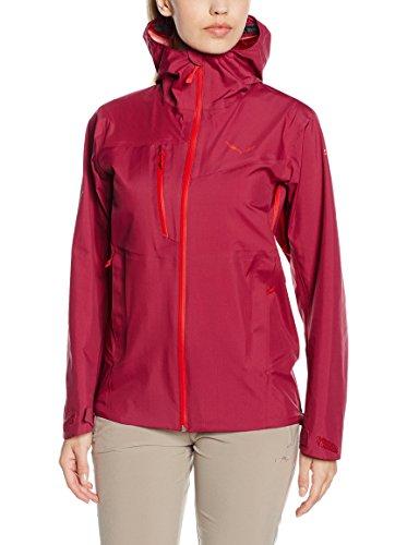 Salewa Puez Veste de randonnée/pédestre Femme Rouge FR : 36 (Taille Fabricant : XS)