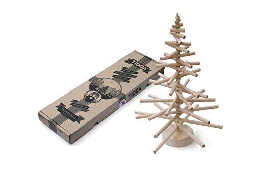 ISYbe Tidda Weihnachtsbaum aus Holz, Natur