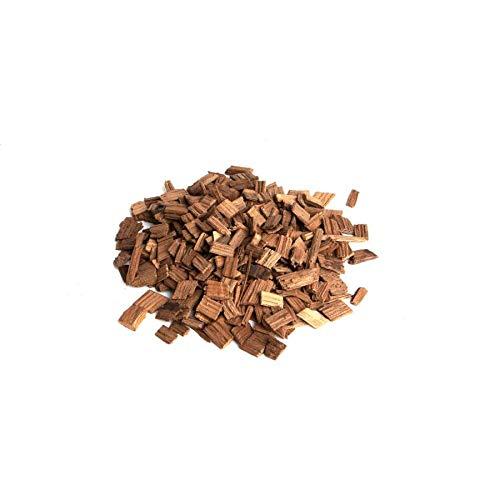 Brewferm Eichenholzchips Französisch (Medium Toasted) 250g | Eichenholzspäne | Räucherholz